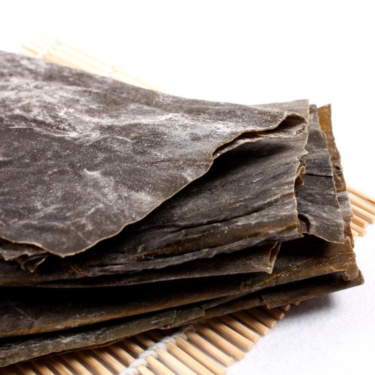 【蓬莱馆】蓬莱长岛特产日晒野生盐渍海带 干货 500g