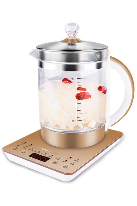 【新品】九阳 d03养生壶加厚玻璃全自动电热水壶分体式煮茶壶