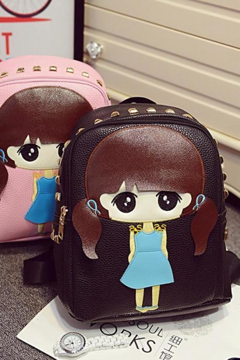 休闲旅游包可爱女孩萌小希