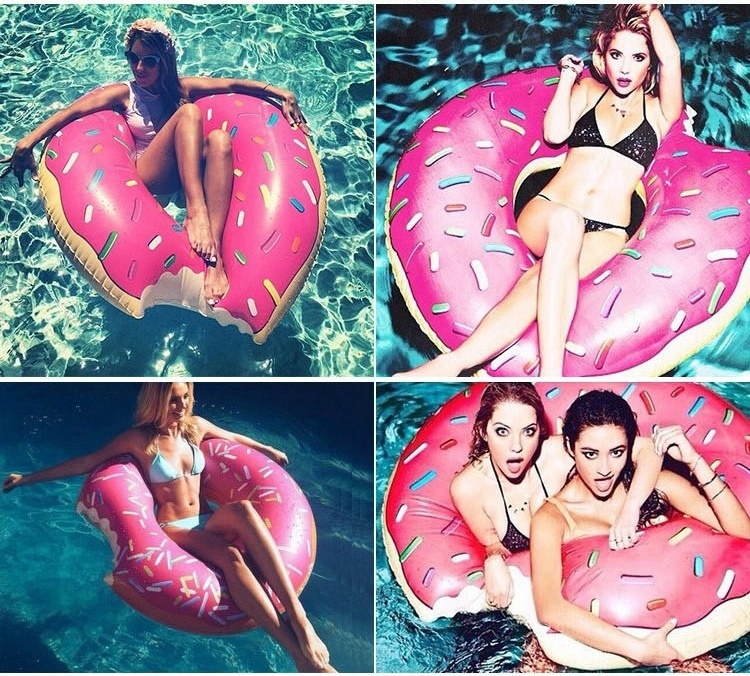 欧美头像做游泳圈