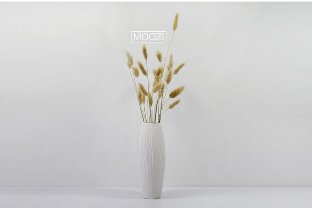 【【木子西年】文艺简约陶瓷白色花瓶】-无类目-花瓶