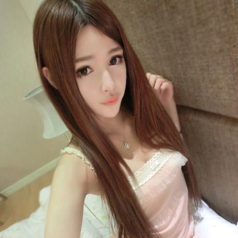 网红时尚整顶假发女长直发中分刘海韩国超长发假发套自然逼真包邮