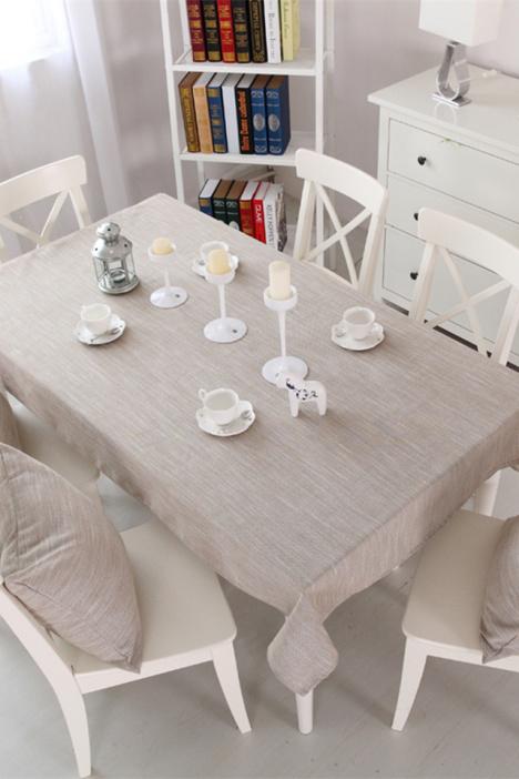 格子桌布,亚麻桌布,餐桌布,桌布,小清新桌布