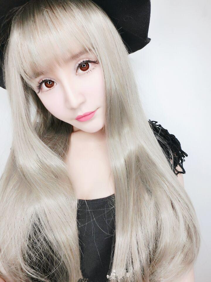 空气刘海中长发发型图片_中长发发型图片 女生中长发发型图片大全_图片