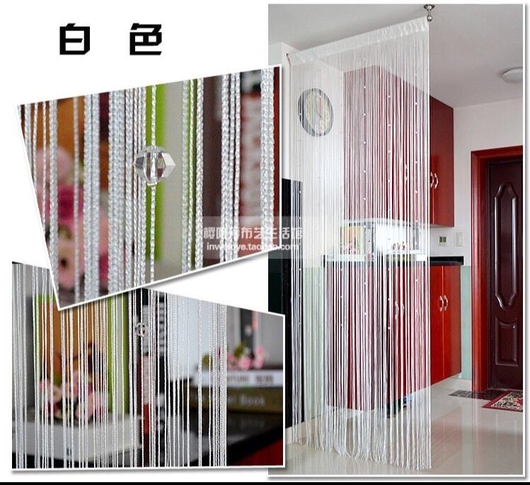 加密水晶线帘门帘隔断装饰