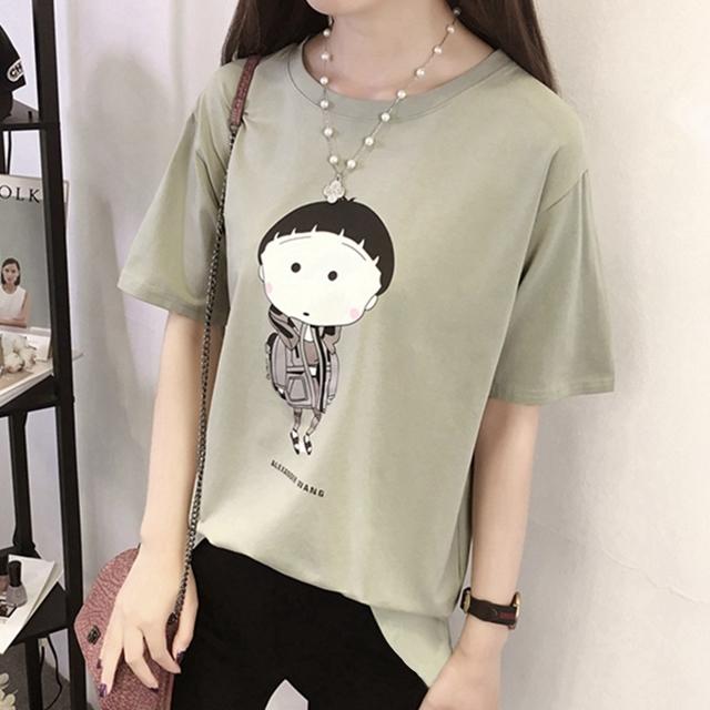 【55元两件实拍韩版可爱娃娃t恤】-衣服-服饰鞋包