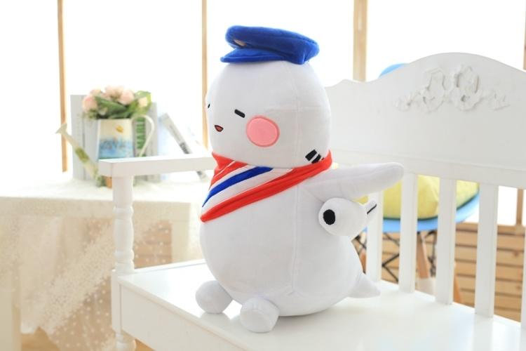 【大阪机场吉祥物小空飞机呆萌肥机公仔毛绒玩具情人