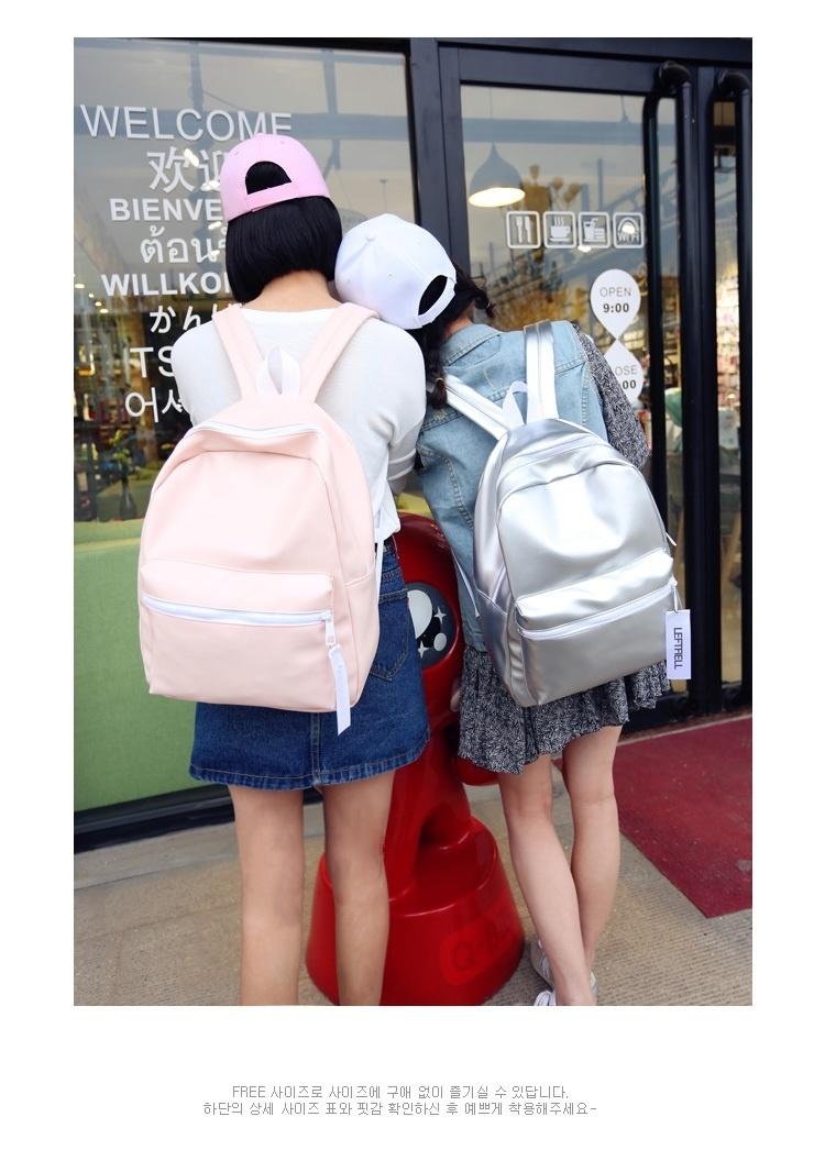 【小清新闺蜜潮女学生书包pu双肩背包】-鞋子-双肩包