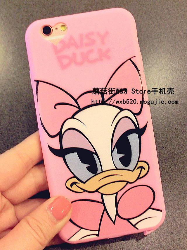 可爱迪士尼黛西iphone6/6s手机壳
