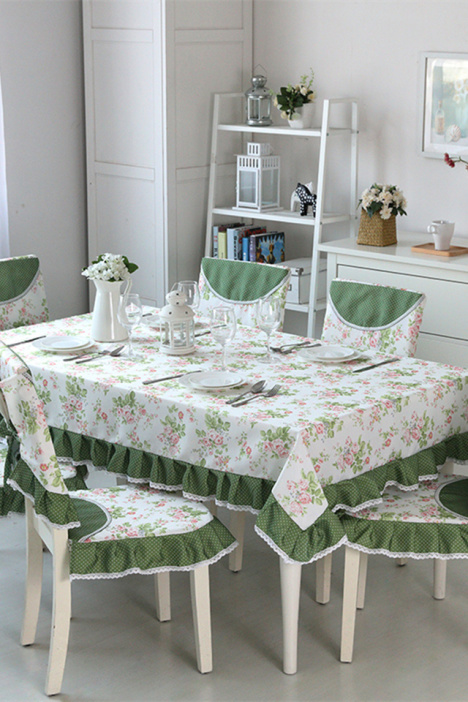 欧式节日喜庆餐桌布艺方格子西餐厅桌布茶几盖布台布定制