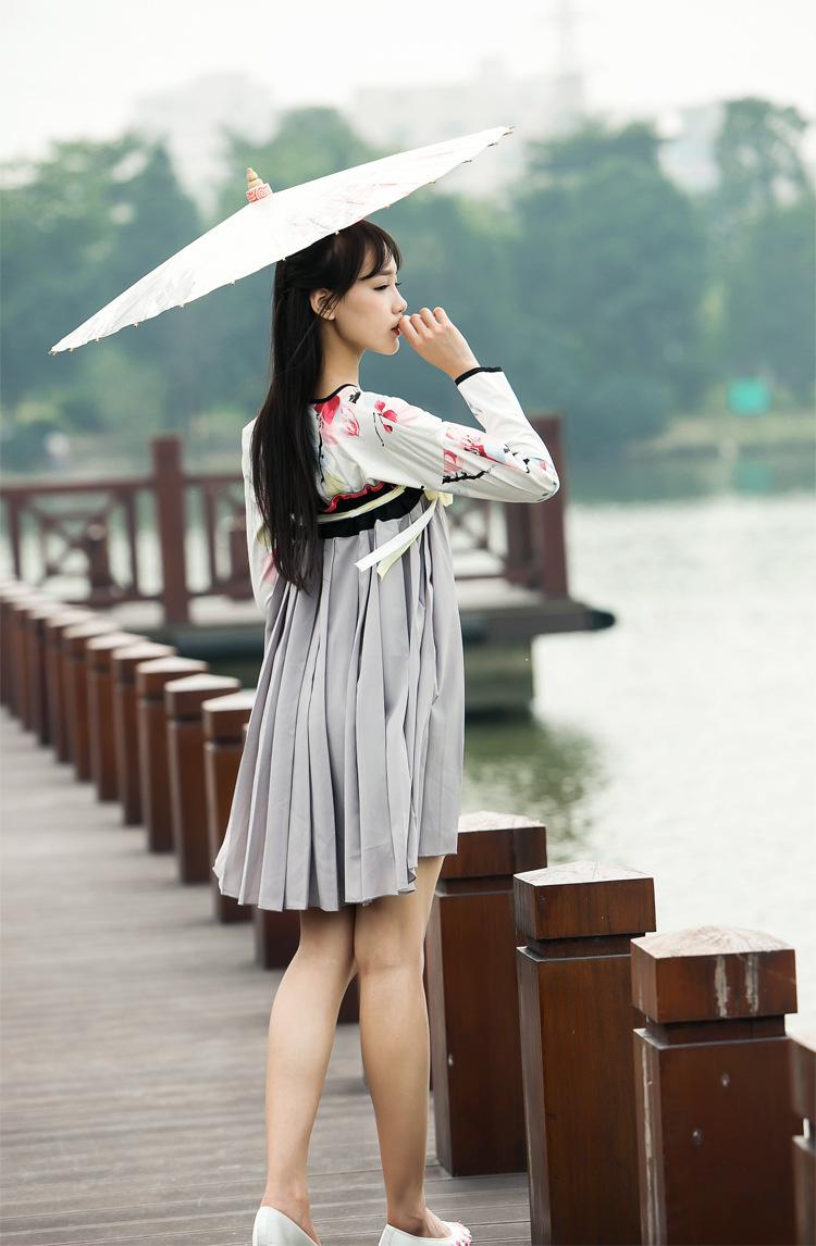 古风手绘上衣+齐胸襦裙】