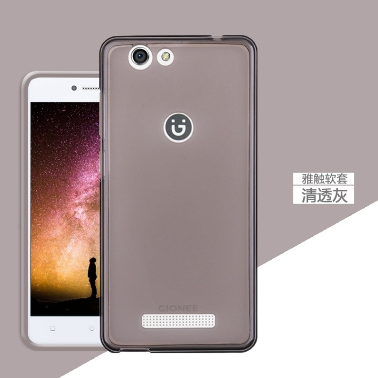 【金立f100手机壳gioneef100保护套硅胶透明软简约】