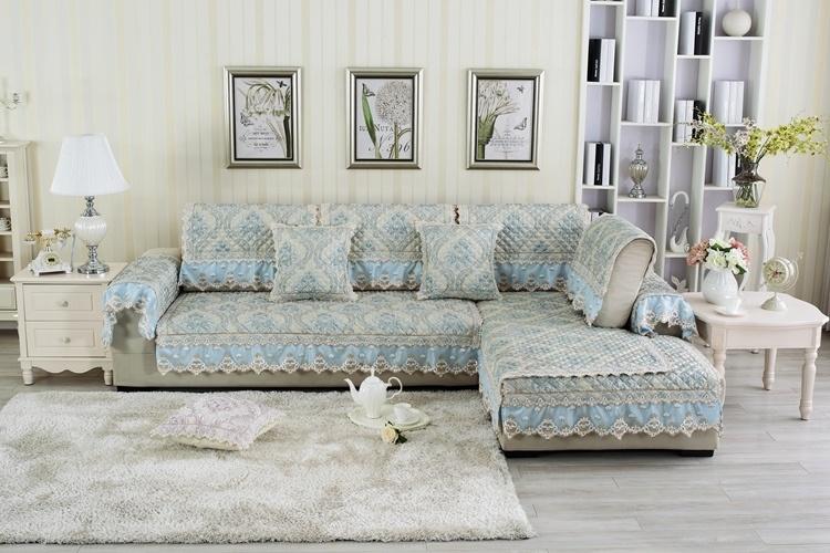 【万家丽夏季亚麻沙发垫欧式沙发垫沙发巾皮沙发坐垫
