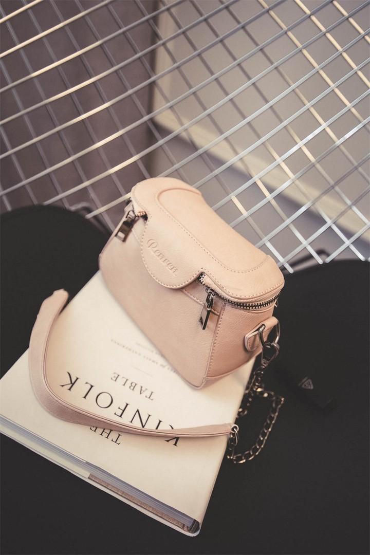 韩版迷你小箱子水桶链条包】-包包-女包