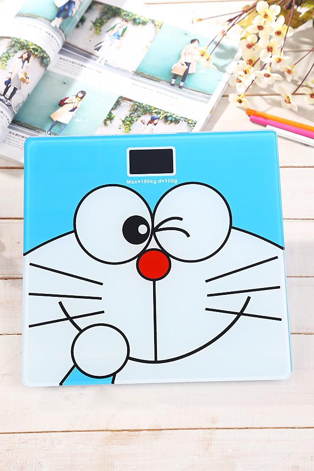(送皮尺电池)超萌叮当猫卡通电子称